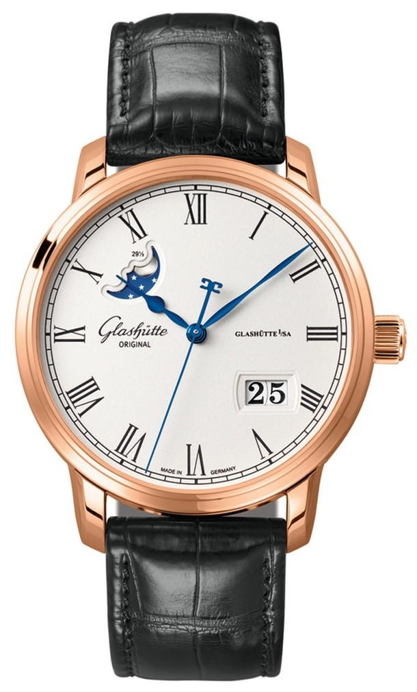 Glashütte Original Senator Panorama Date MoonPhase 100-04-32-15-04