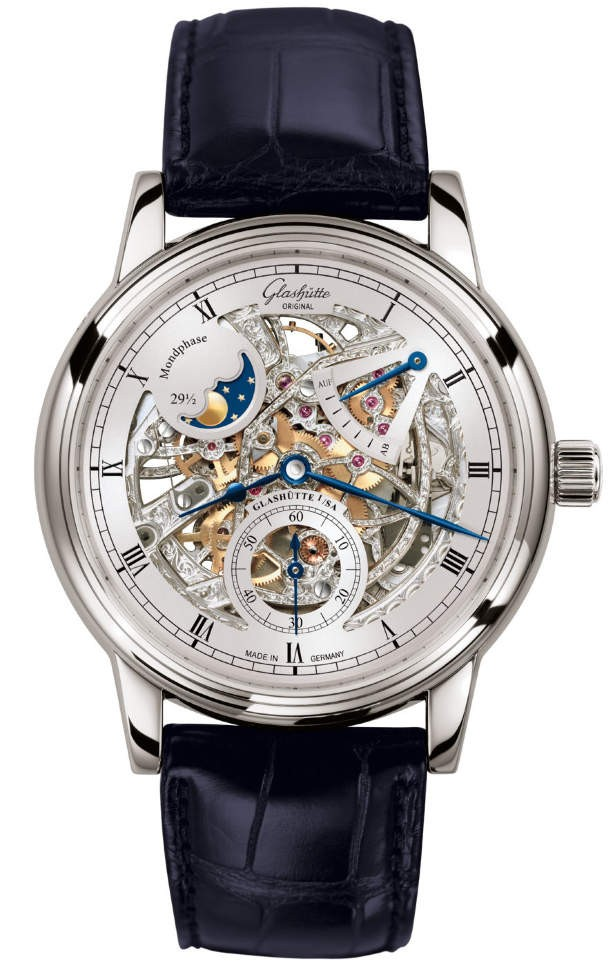 Glashütte Original Senator Moon Phase Skeletonized 1-49-13-15-04-30