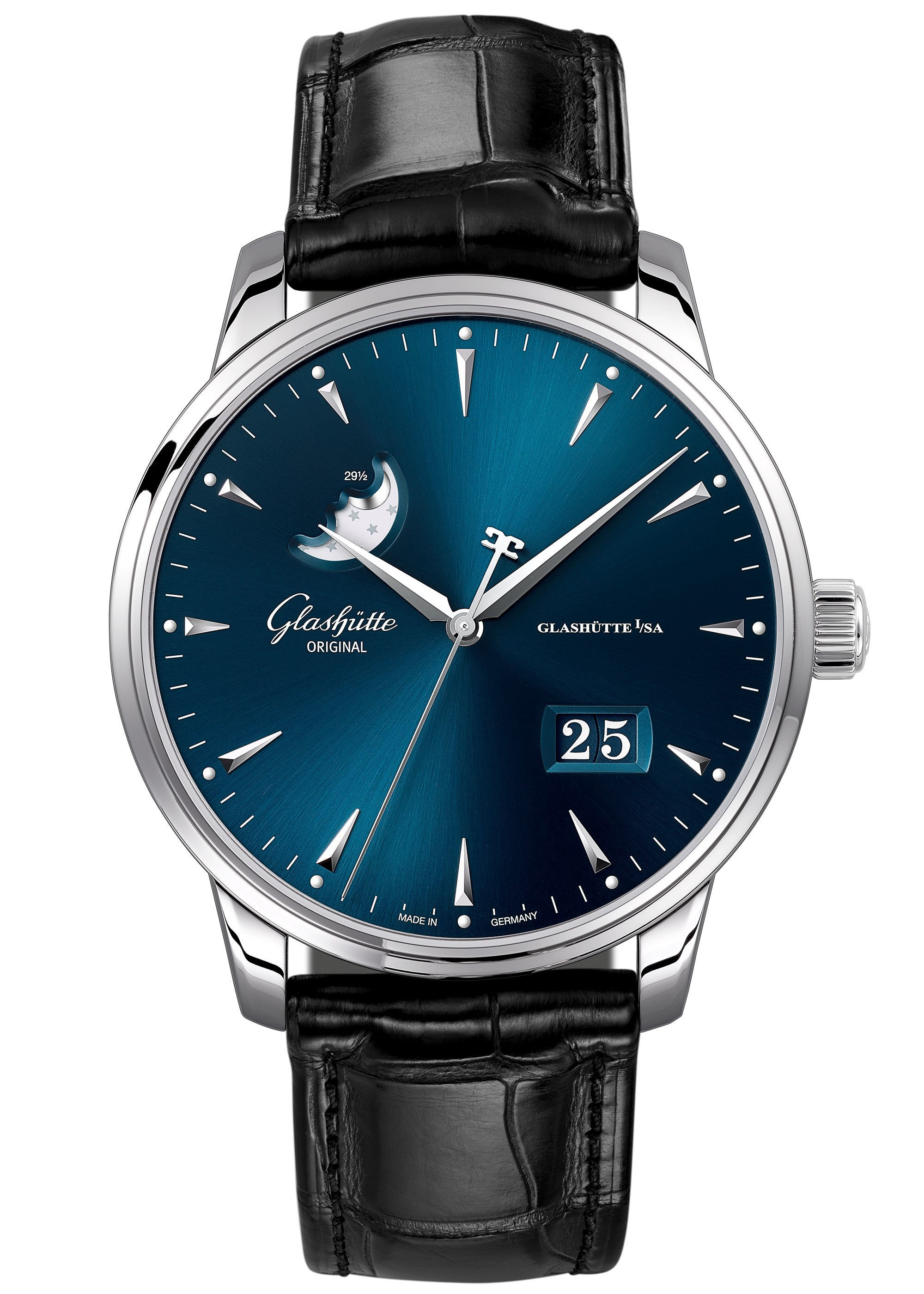 Glashütte Original Quintessentials Senator Excellence Panorama Date Moon Phase 1-36-04-04-02-30