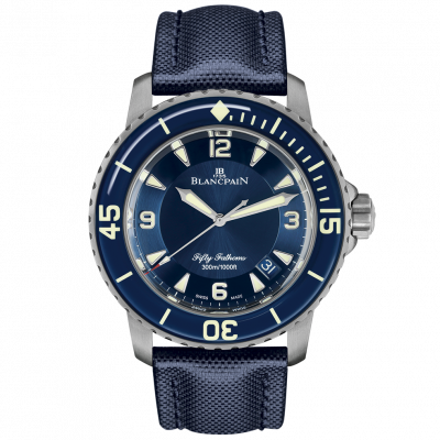Blancpain Fifty Fathoms Automatic Titanium 5015 12B40 O52A купить в магазине Eurotime