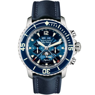 Blancpain Fifty Fathoms Complete Calendar Flyback Chrongraph 5066F 1140 52B купить в магазине Eurotime